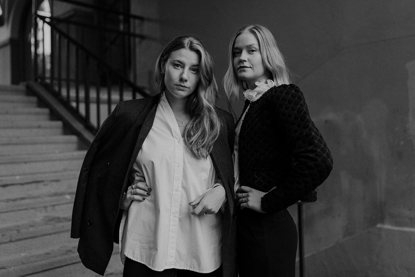 About - Founders of Luie, Amanda Braw and Isabelle Åström